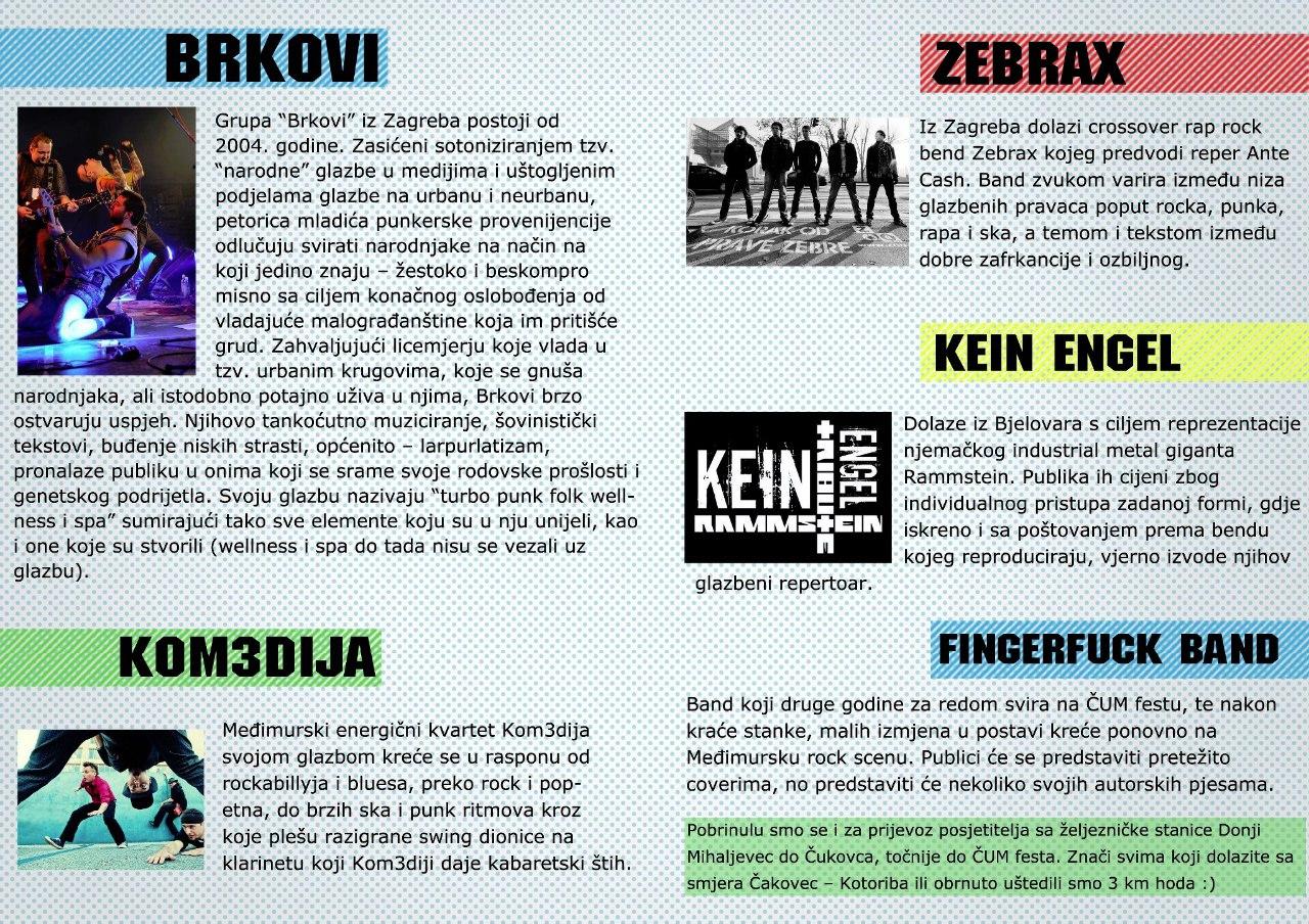 Najava koncerta Flyer - ČUM fest!, 07.07.2012.