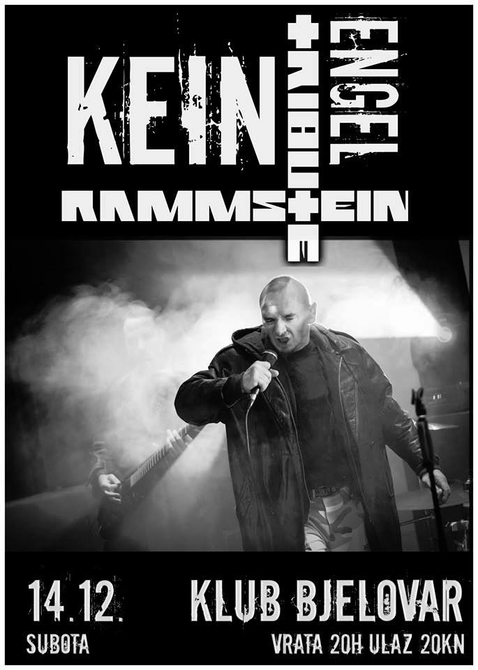 Najava koncerta – Klub, Bjelovar, 14.12.2013.