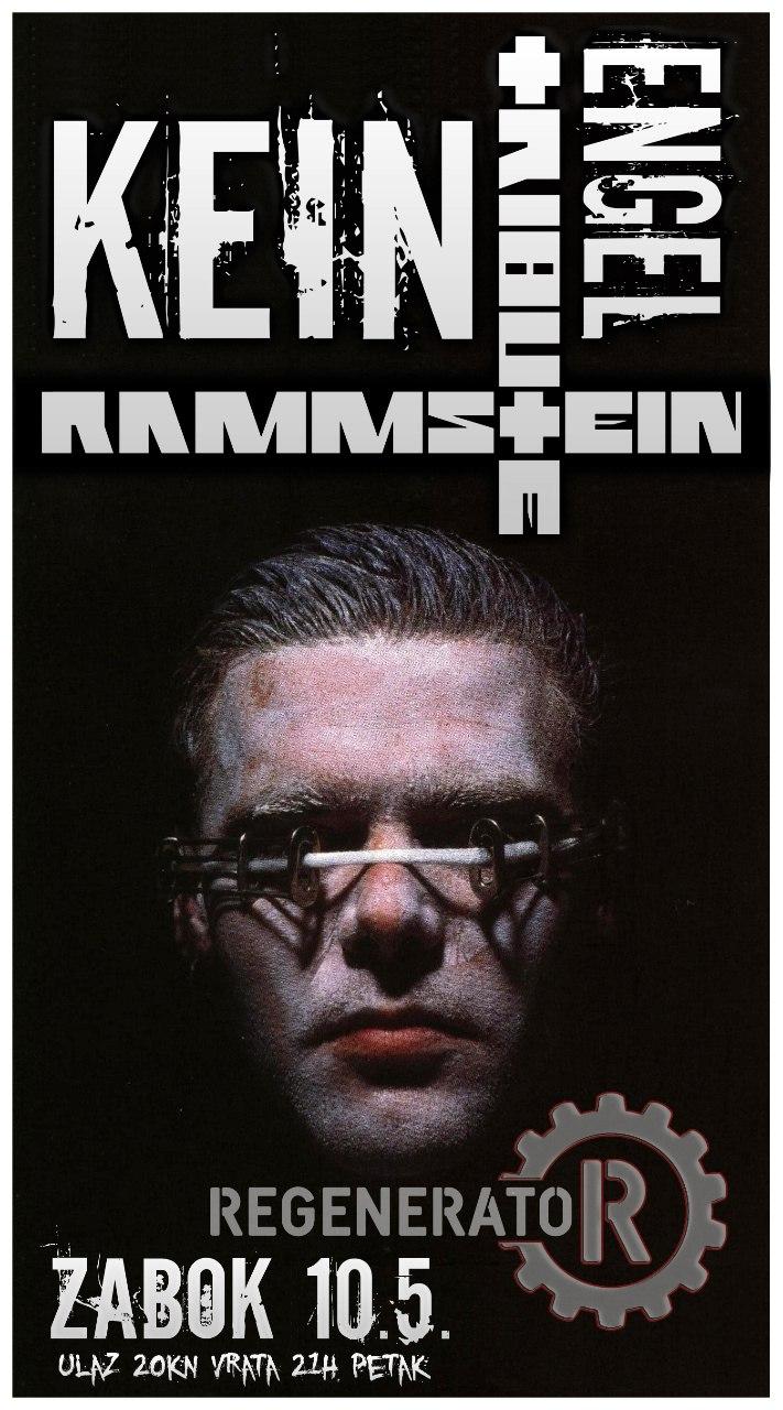 Najava koncerta - ZCUK Regenerator, Zabok, 10.05.2013.