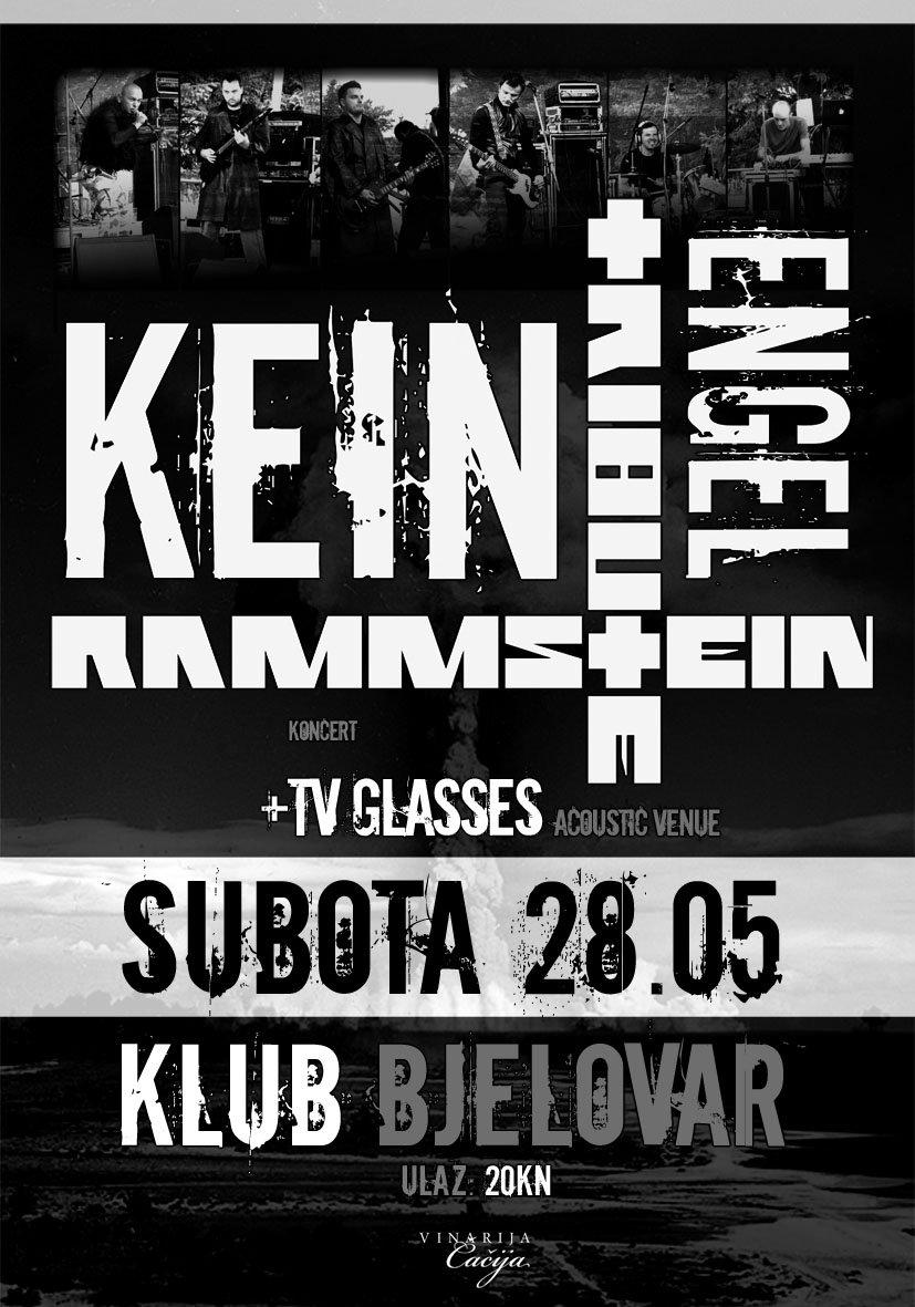Najava koncerta – Klub, Bjelovar, 28.05.2011.