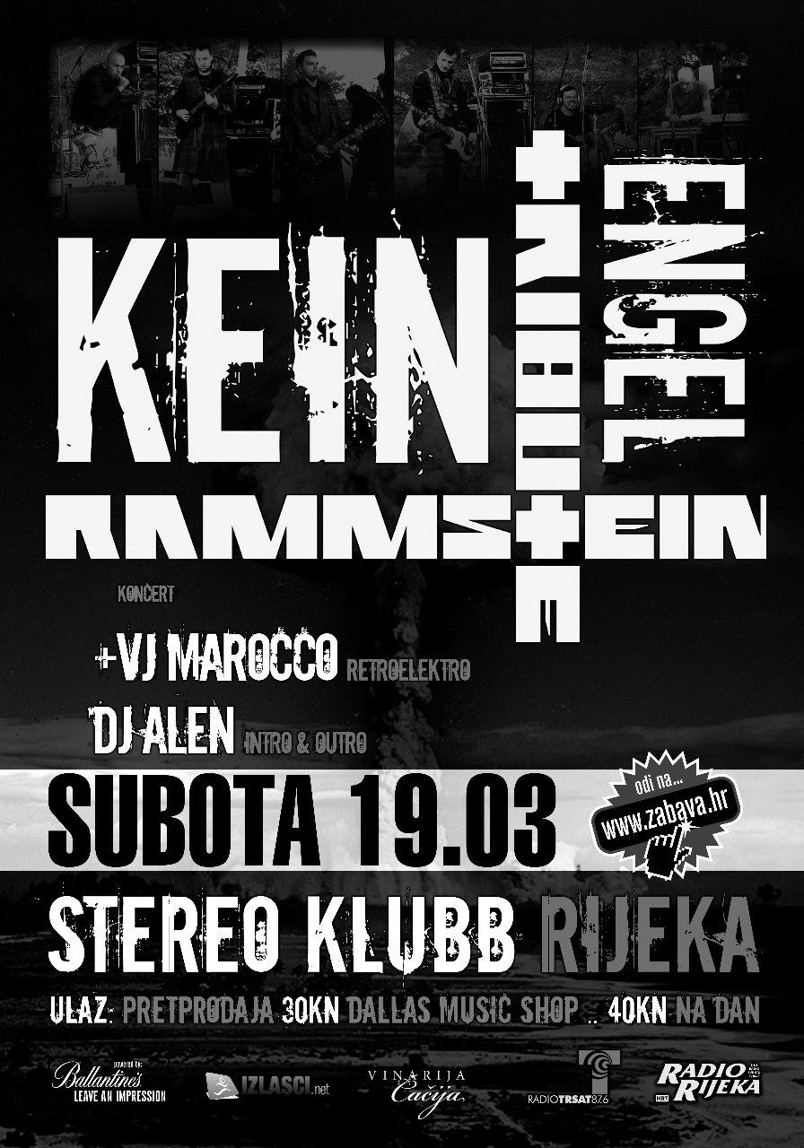 Najava koncerta – Stereo Klubb, Rijeka, 19.03.2011.