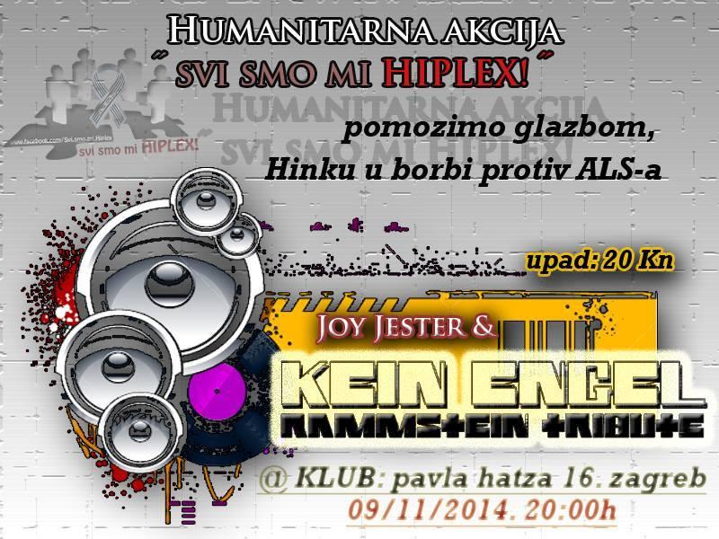 """Kein Engel  Humanitarna akcija""""Svi smo mi HIPLEX!"""""""