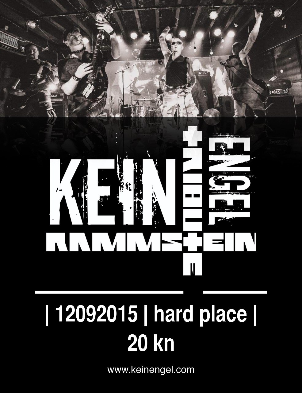 Kein Engel @ Hard Place 12.09.2015.